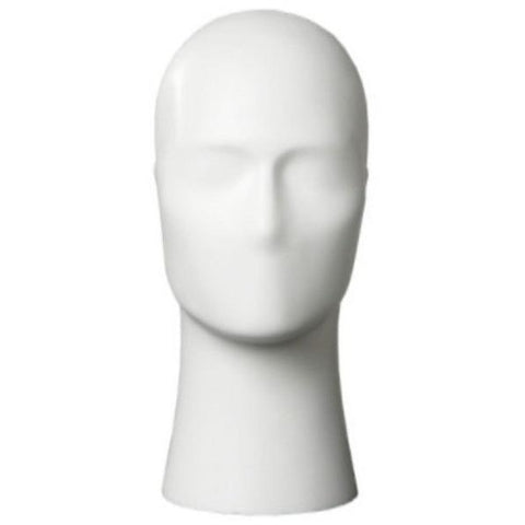 Athletic Male Head Form Mannequin by Fusion Specialties Front