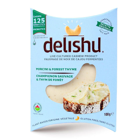 Delishu – Cultured Cashew Product, Sundried Tomato & Oregano, Organic
