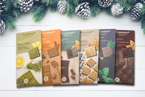 Multi Pack Organic Vegan Gluten free Chocolate with Superfoods