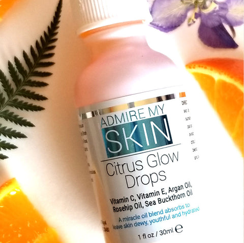 Citrus Glow Drops – Vitamin C Oil - Admire My Skin