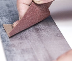 The ideal way to prepare a surface prior to adhesive bonding