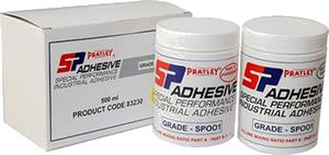Pratley SP001® Chemical Resistant Adhesive - 2x250ml jars-PratleyUSA