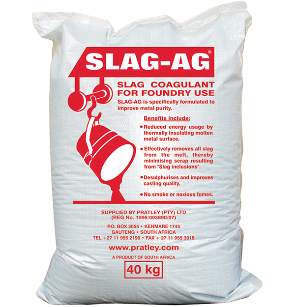 Pratley Slag-Ag® (Slag coagulant for foundary use)-PratleyUSA