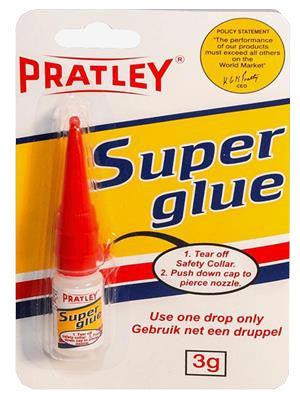 Pratley Superglue - 3 Grams-PratleyUSA