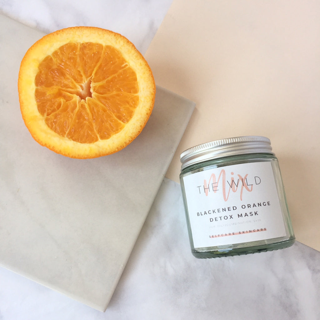 Blackened Orange Detox Mask