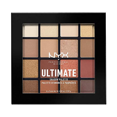 NYX Warm Neutrals Ultimate Shadow Palette