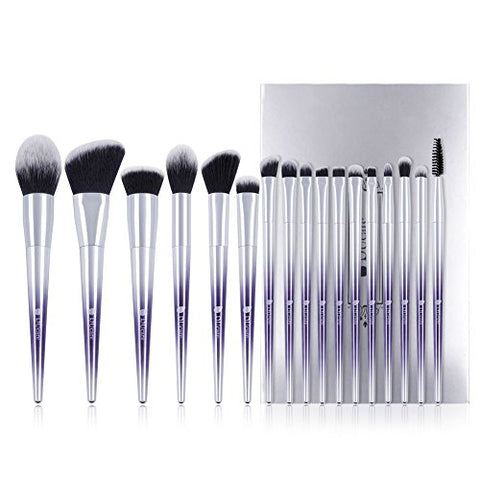 Chrome Ombre Professional Synthetic Brush Kit (17 Pieces)