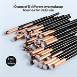 Ultimate Eye Makeup Brush Kit (50 Piece)