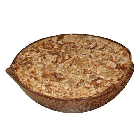 African Black Soap in Coconut Shell. All Natural SLS Free 150g.