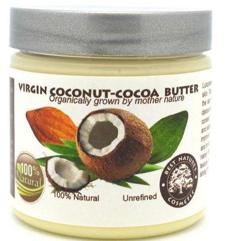 Virgin Coconut - Cocoa Butter 4oz / 120 ml