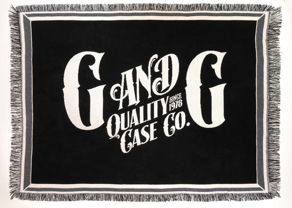 G&G Quality Case Throw Blanket