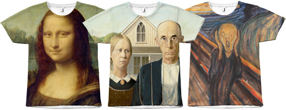 Classic Art on Shirts Collection by Egoteest