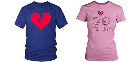 Egoteest: Romantic T-shirts