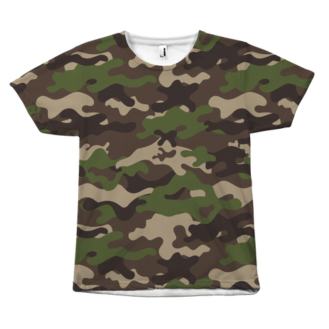 Camouflage Woodland shirt by Egoteest