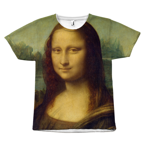 Egoteest Mona Lisa Painting Shirt
