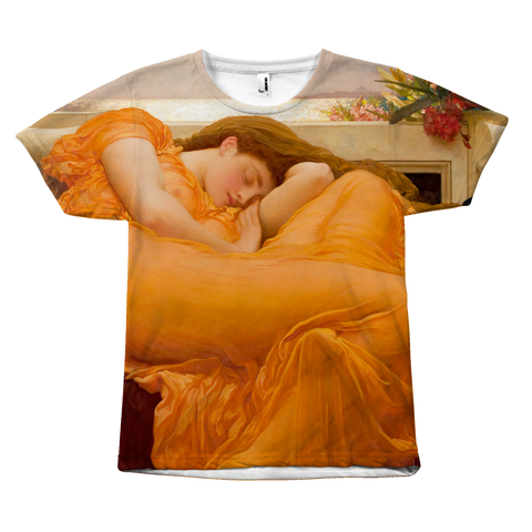 Egoteest Flaming June Painting T-shirt