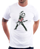Abraham Lincoln Rock Star T-shirt - Rock Like it's 1776 Tshirt by Egoteest
