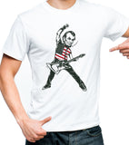 Abraham Lincoln Rock Star T-shirt, Rock Like it's 1776 shirt by Egoteest