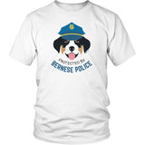 Protected by Bernese Police T-shirt by Egoteest