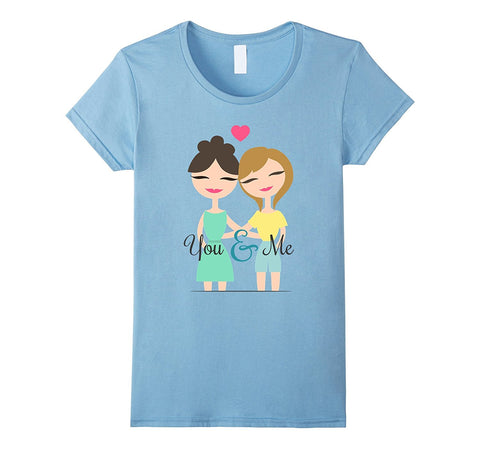 Egoteest: You and Me, Lesbian T-shirt