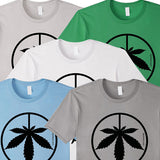 Cannabis Peace Sign T-shirt