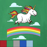 Egoteest: Funny Dancing Unicorn Tshirt for Kids