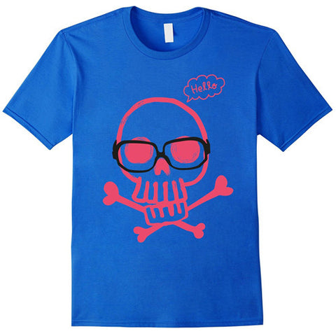 Egoteest: Funny Skull and Bones Tshirt for Kids
