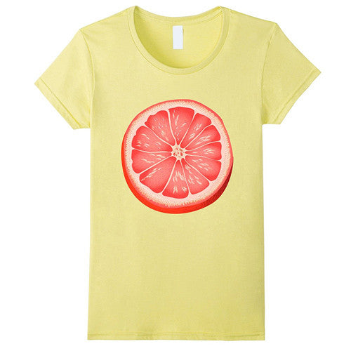 Egoteest: Large Grapefruit Slice Tshirt, Men, Women, Kids