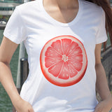 Egoteest: Grapefruit Slice Tshirt for Women