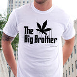 The Big Brother Cannabis Leaf. The Godfather Parody T-shirt