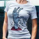Zombie Hand Coming Out of the Earth T-shirt