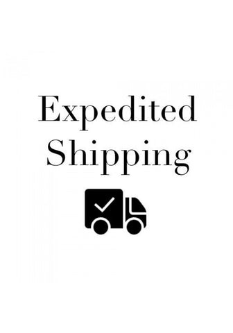 Expedited Shipping Upgrade (+$5.00)