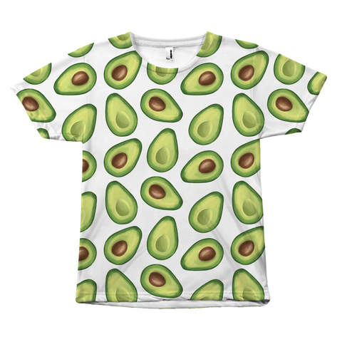 Avocado All Over Print Shirt by Egoteest