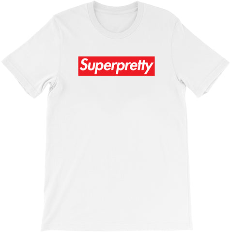 Super Pretty - Supreme Parody T-shirt by Egoteest