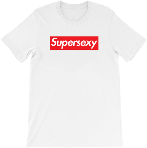 Super Sexy - Supreme Parody T-shirt by Egoteest