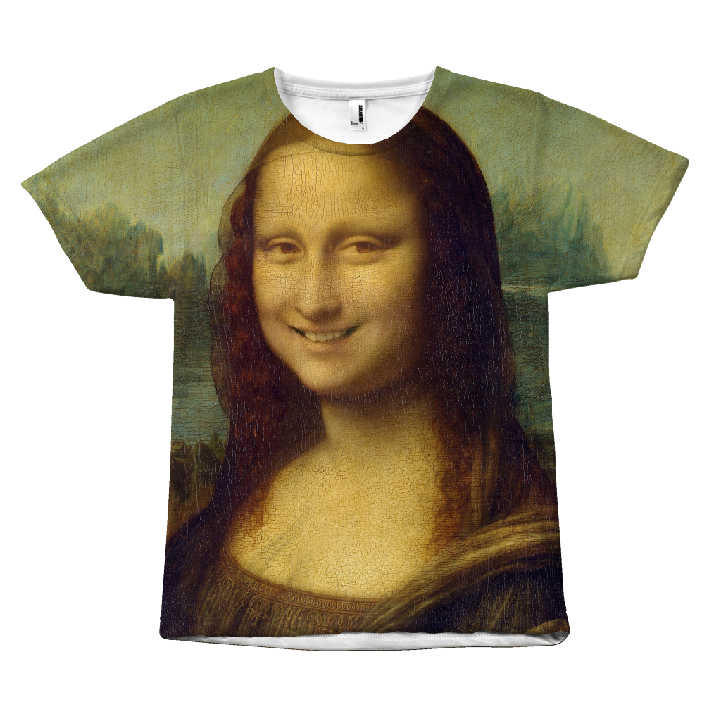 The Smiling Mona Lisa