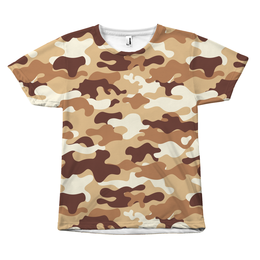 all over print Camouflage shirt by Egoteest