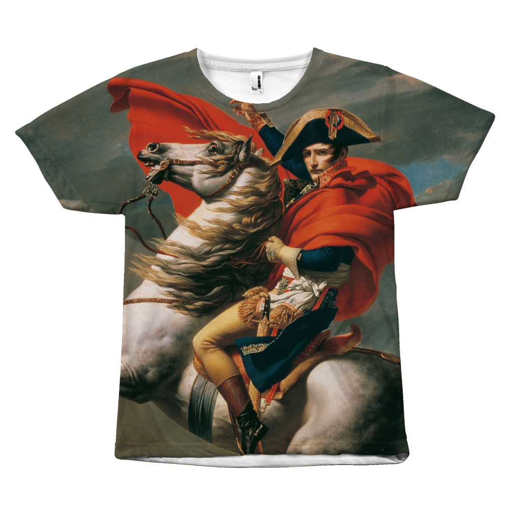 Egoteest Classic Paintings on Shirts. Napoleon Bonaparte