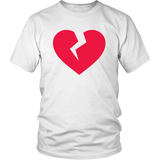 Egoteest: Broken Heart. St. Valentine's Day T-shirt