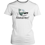 Fartissimo! Farting Whale Women's T-shirt