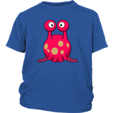 Red Monster Alien Kid's T-shirt