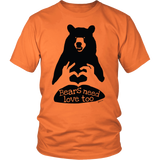 Bears Need Love Too, Unisex T-shirt