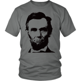 Egoteest: Abraham Lincoln Oversized Portrait T-shirt