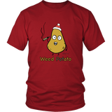 Weed Potato Holiday Edition, Humor T-shirt. Unisex Up to 5XL