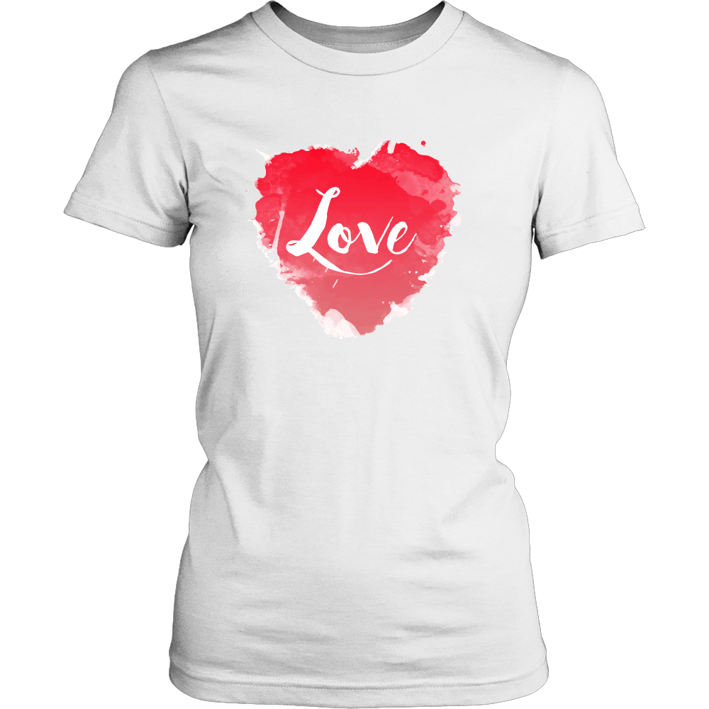 Love, Heart, Romantic Women's T-shirt
