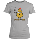 Weed Potato, Holiday Edition. Humor Women's T-shirt