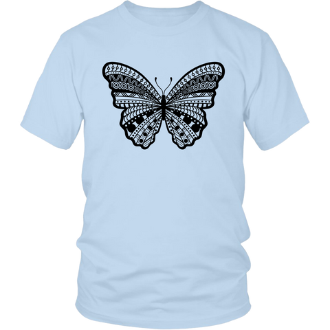 Tribal Butterfly Graphic Men's / Unisex T-shirt