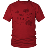 Born to Fly. Unisex Graphic T-shirt