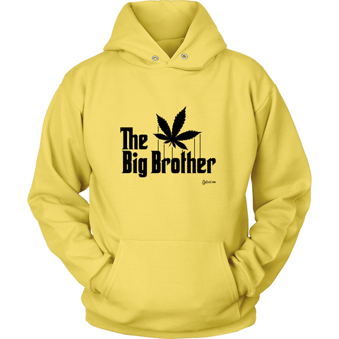 The Big Brother Cannabis Leaf. The Godfather Parody. Black Print