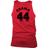 Obama 44, Double Sided Sport Tank Top up to 3XL